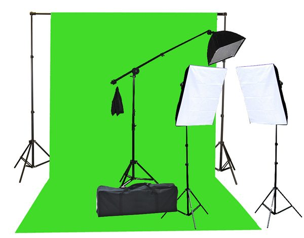 chromakey green screen