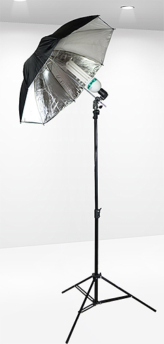 reflective umbrella light