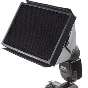 Fancierstudio Speedlight Universal Honeycomb Grid for Nikon, Canon, Sony DSLR Camera Flash SB900, SB800 SB600, EX430, EX580 MF20136-0