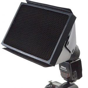 Fancierstudio Speedlight Universal Honeycomb Grid for Nikon, Canon, Sony DSLR Camera Flash SB900, SB800 SB600, EX430, EX580 MF20136-0