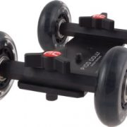 Pico Flex Skater Dolly DSLR Camera Floor Table Dolly Video Slider Track & Case by Fancierstudio PICODOLLY-0