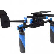 Camcorder Steady Shoulder Rig Follow Focus DSLR Video Cam Camera RL02FRSET-342