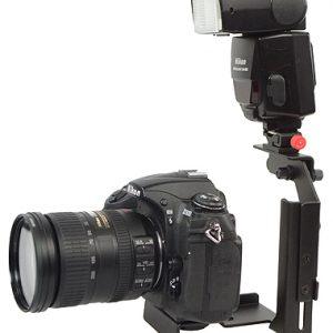 Fancierstudio Ultra Compact Flash Bracket Off Camera Flash Bracket Quick Flip Flash Bracket H6604-615