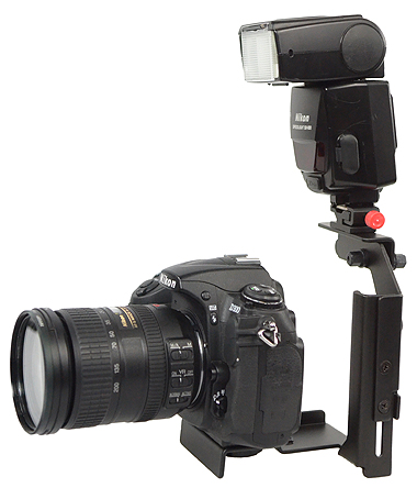 Fancierstudio Ultra Compact Flash Bracket Off Camera Flash Bracket Quick Flip Flash Bracket H6604-614