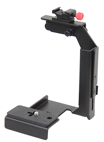 Fancierstudio Ultra Compact Flash Bracket Off Camera Flash Bracket Quick Flip Flash Bracket H6604-0