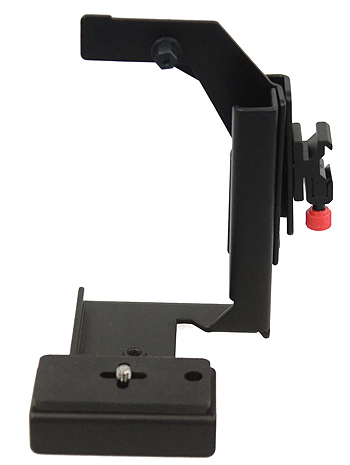 Fancierstudio Ultra Compact Flash Bracket Off Camera Flash Bracket Quick Flip Flash Bracket H6604-616