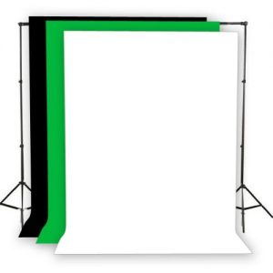 Fancierstudio Light Kit 2000 Watt Photo Video Lighting Kit with Hairlight Boomstand by Fancierstudio U9004SB-10x12BWG-570