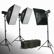 900 watt strobe flash kit