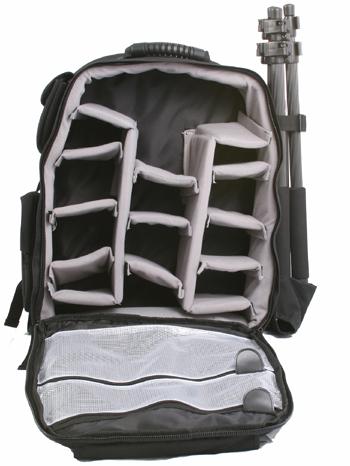 Photo Camera Carrying Backpack Canon Nikon SLR WB1626-945