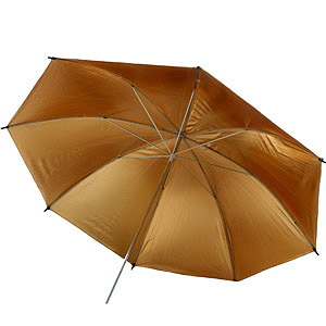 Gold Photo Light Studio Umbrella Tungsten NEW G39-0
