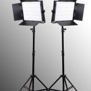 2 x 900 LED Light Panels with Dimmer Video Lighting LED Lighting Kit-0