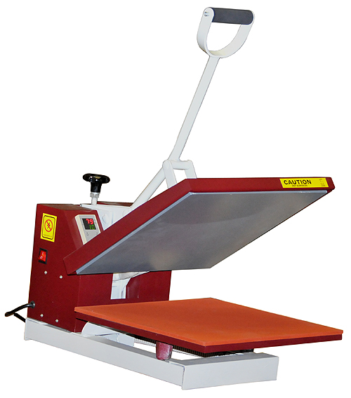 15 X15 Digital High Press Sublimation Clamp Shell T Shirt Heat Press Transfer Screen Printing Machine 15 x 15 RED NEW-0