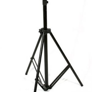 2400 Watt Video Photography Continuous Lighting 3 Softbox Light Kit with 10x12 Black Muslin Support Stand System Case H9004S3-1012B-1387