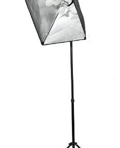 2800 Watt Lighting Kit With Boom Arm Hairlight Softbox Lighting Kit-243