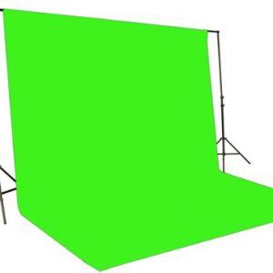 2400 Watt Chromakey Green Screen Video Lighting Kit VL9004S3 +TB Green Kit-112