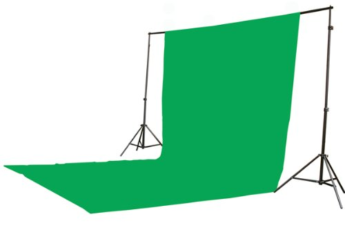 10 X 20 Large Chromakey Chroma KEY Green Screen Support Stands 3 Point Continuous Video Photography Lighting Kit H9004SB-1020G-1442