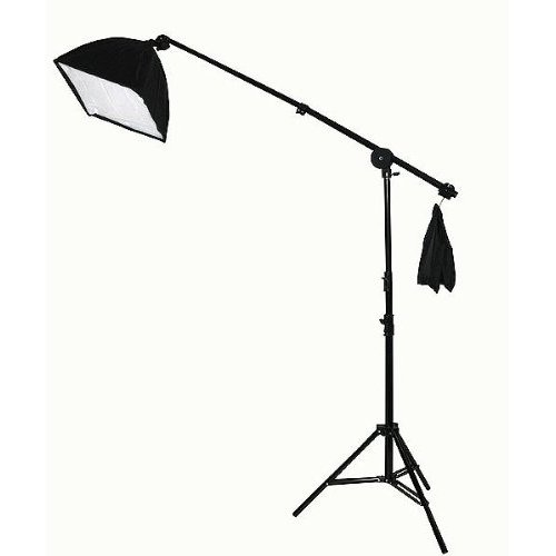 2000 Watt Lighting Kit With Boom Arm Hairlight Softbox Lighting Kit 9004SB-811