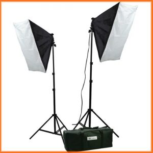 Video Studio Photography Lighting kit softbox light kit video lighting kit CASE H9004S-0