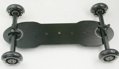 X Large Flex Dolly Digital DSLR Skater Camera Dolly Slider Table Top Dolly WYD350 -0