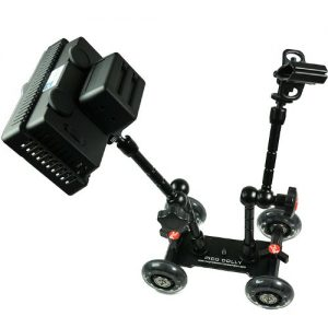 240 Color Changing LED Light Panel and Pico Skater Dolly 2 Articulated Arm Complete Kit LEDPICO-1194