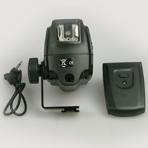 16 Channels 2 hot shoe wireless Radio remote flash remote trigger with umbrella holder for Nikon Canon MT16-0