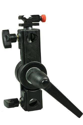 Off Camera Photography Studio Flash Bracket Holder for Speedlight Nikon, Canon H6802CB-0