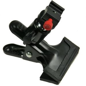 Portable Swivel Flash Clamp with Hot Shoe Mount Flash Adapter by ePhotoInc H6804HS-1474
