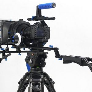 Professional DSLR RIG Shoulder Mount Follow Focus Whips, Crank, Matte Box Support System Kit Rig DSLR RLO3-1102