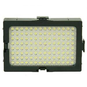 On Camera DV Camcorder DSLR 170 LED Video Photo Lite Panel Lighting with Metal Swivel Hotshoe Adapter CN170-903