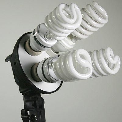 3200 Watt Softbox Photo Video Studio Portrait Lighting & 10x12 White Muslin Backdrop Support Stand Set H604SB2-1012W-1308