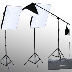 10 X 20 Large Chromakey Chroma KEY Green Screen Support Stands 3 Point Continuous Video Photography Lighting Kit H9004SB-1020G-1440