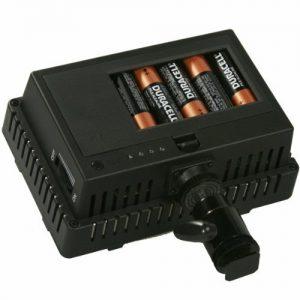 On Camera DV Camcorder DSLR 170 LED Video Photo Lite Panel Lighting with Metal Swivel Hotshoe Adapter CN170-897