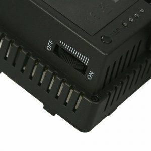 On Camera DV Camcorder DSLR 170 LED Video Photo Lite Panel Lighting with Metal Swivel Hotshoe Adapter CN170-896