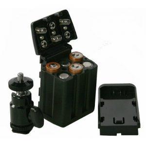 Professional 240 LED Bi Color Video Light Panel l W/ Color Temperature Switch 3200K-5400K & Brightness Dimmer CN240CH-904