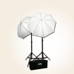 H4049 Triple Lighting Video Photography Light Kit 2 Muslin Support Stands Kit with Case-1463