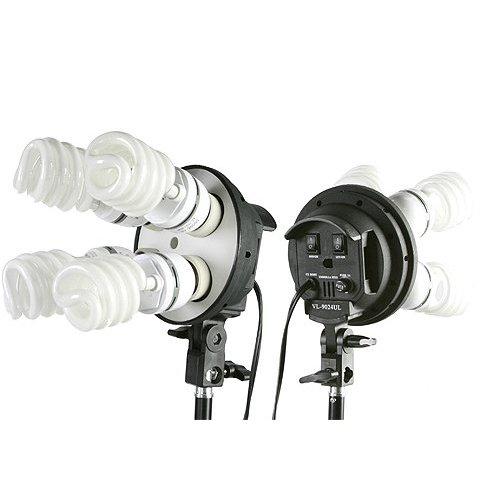 2000 Watt Lighting Kit With Boom Arm Hairlight Softbox Lighting Kit 9004SB-806