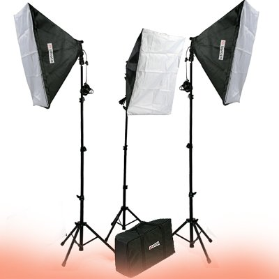 2400 Watt Continuous Video Photography Studio Chromakey Green Screen Lighting Kit H9004S3-1020G-1494