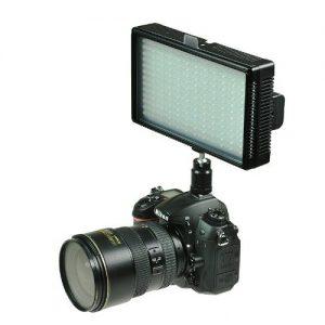 Professional LED Light 312 LED Bi-Color Changing Dimmable LED Video DSLR Camera Light Panel LED312-925