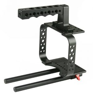 Top Handle Camera Cage For Black Magic Camera Video Movie Camera Follow Focus BMC-M -0