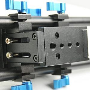 Digital DSLR Rail System 15mm Rod Rig Base Plate for HD DSLRs, Supports Follow focus Railsystem -1203