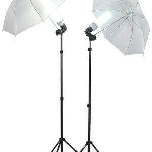 1000 Watt Lighting Kit With Backdrop Support System And 6'x9' Black White Muslin Backdrop K105 6x9BW-385