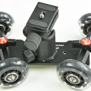 Portable Pico Flex Table Skater Dolly Rig with Ball Head 360 degree Pico Travel Size Case Pico591BH -1186