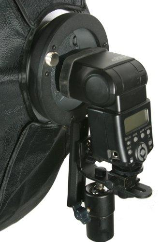 "Off Camera Flash Strip Softbox Honeycomb Grid Beehive Strip Soft Box 8"" x 36"" for Nikon Canon Speedlight Flashes LBW2290GD-1260"