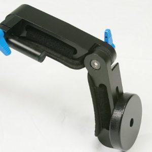 Dual Grip DSLR Camera Video Shoulder Mount Rig Stabilizer Support System 15mm Rod-1617