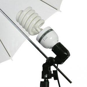 10' X 20' Black Muslin Backdrop Umbrella Softbox Lighting Kit K15 10x20Black-372