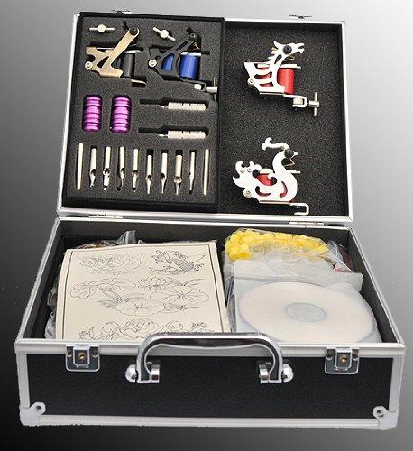 Four Gun Tattoo Kit Tattoo Machine Gun Kit By Fancier S-T01-0