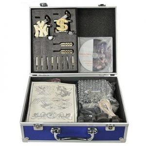 Premium Tattoo Kit Two Tattoo Gun Tattoo Machine Tattoo Kit Tattoo Machine Gun Kit By Fancier A05-0