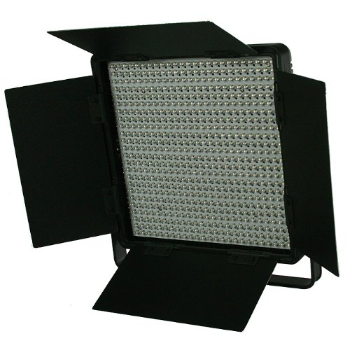 2 x Dimmerable 600 LED Video Photo Studio Lighting Lite Panel with Stands, Sony V mount, 110V-230V-1586