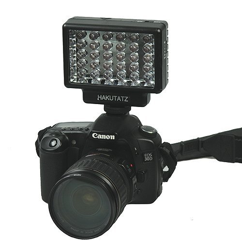 Professional 30 LED Video Light on Camera Video Photography Studio Shoe Mount LED Lighting CN30-0