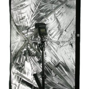 """Photography Umbrella type Softbox 24"""" x 36"""" with Grid for Canon Nikon or Alien Bees 6090GD -1274"""